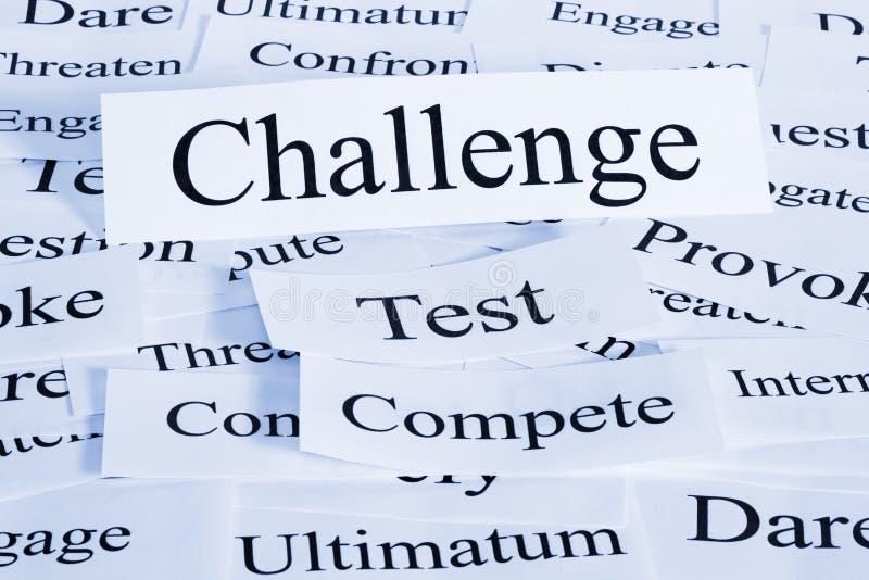Download Wyzwania pojęcie zdjęcie stock. Obraz złożonej z horyzontalny - 25228934