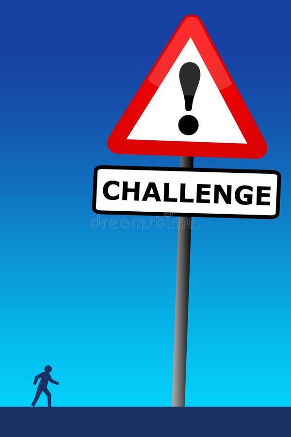 Download Wyzwanie ilustracji. Ilustracja złożonej z wysiłek, żądania - 28966256