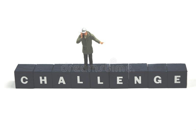 wyzwanie obrazy stock