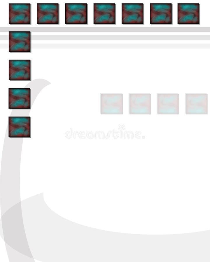 wzór 2 ilustracja wektor