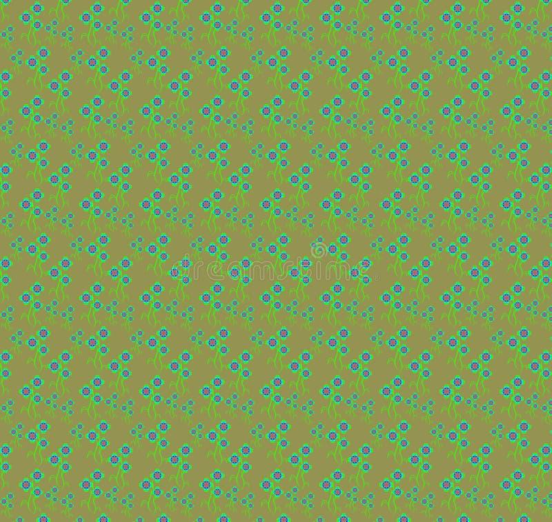 Download Wzór ilustracji. Ilustracja złożonej z ornament, abstrakt - 57671972