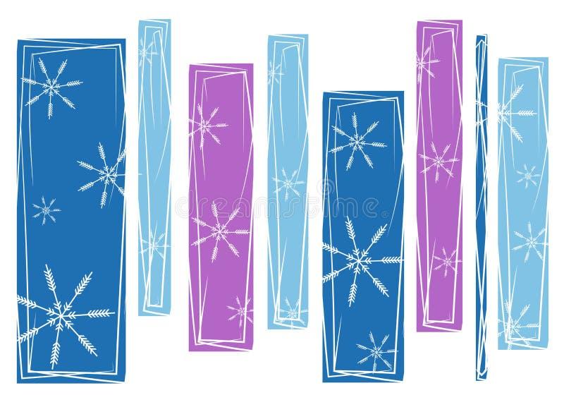 wzór abstrakcyjne tła płatek śniegu ilustracja wektor