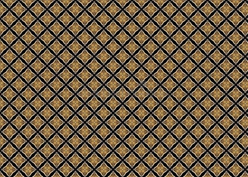 wzór Abstrakt czerep odszyfrowywa linie sztuka ilustracja wektor