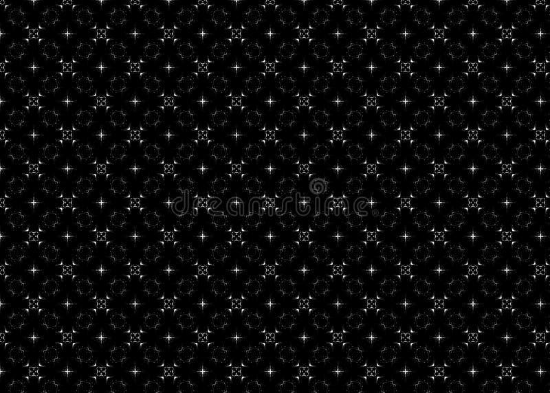 wzór Abstrakt sztuka czerep odszyfrowywa światła royalty ilustracja