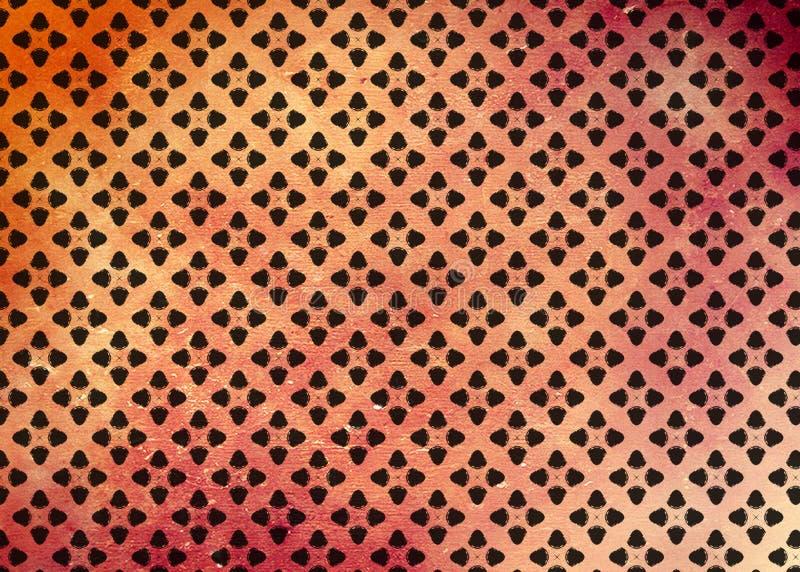 wzór Abstrakt sztuka czerep odszyfrowywa ilustracja wektor