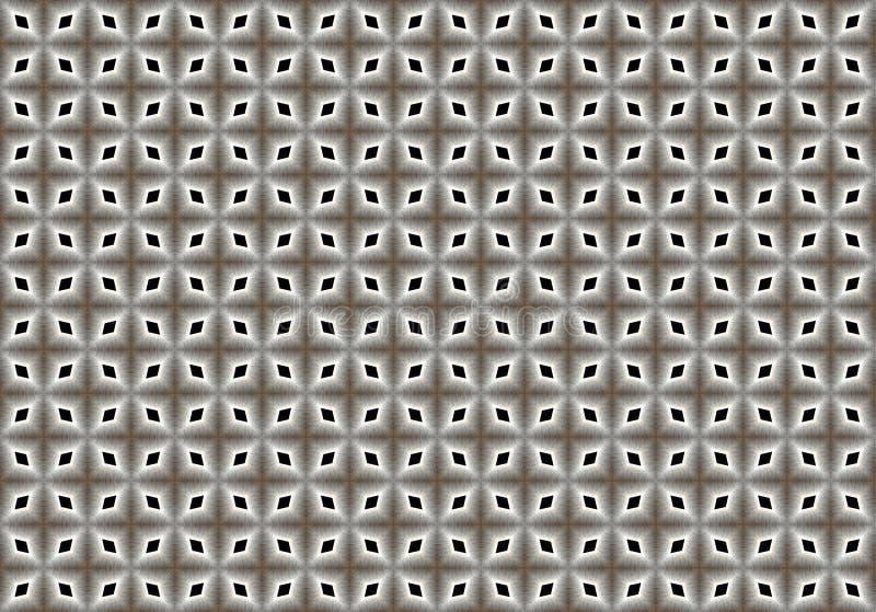 wzór Abstrakt sztuka kolor czerep odszyfrowywa linie ilustracja wektor