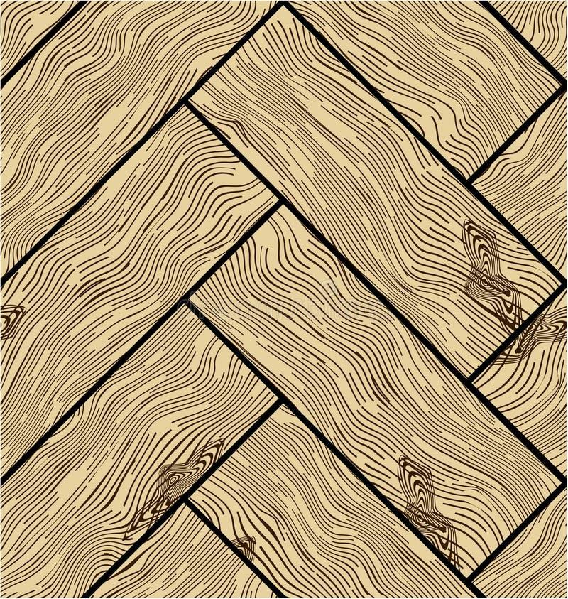 wzór bezszwowy drewnianego wektor ilustracji