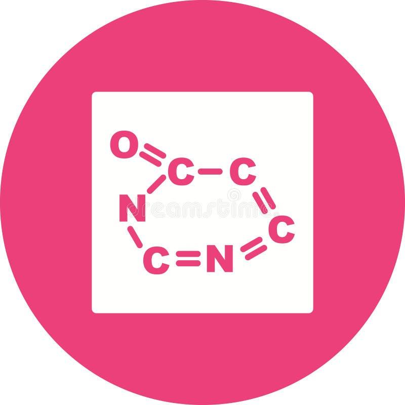 wzór chemiczny royalty ilustracja