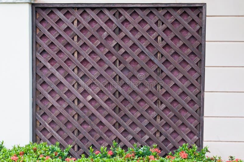 Download Wzór ściana zdjęcie stock. Obraz złożonej z drewniany - 57650500
