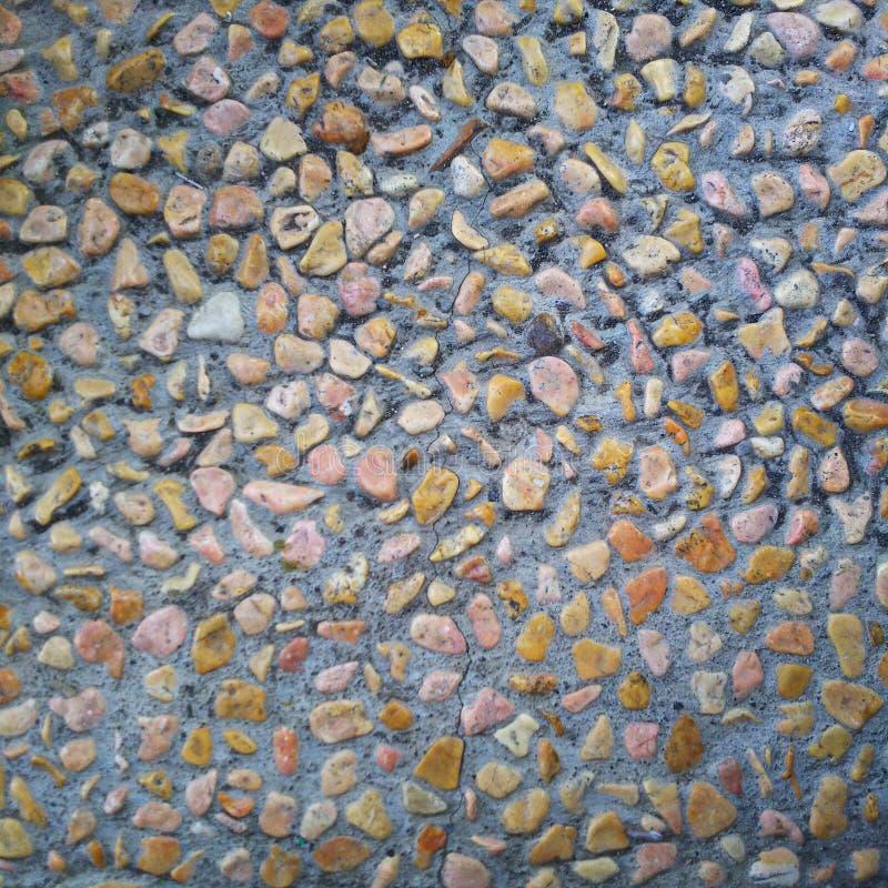 Wzór colourful mała skała zdjęcie stock