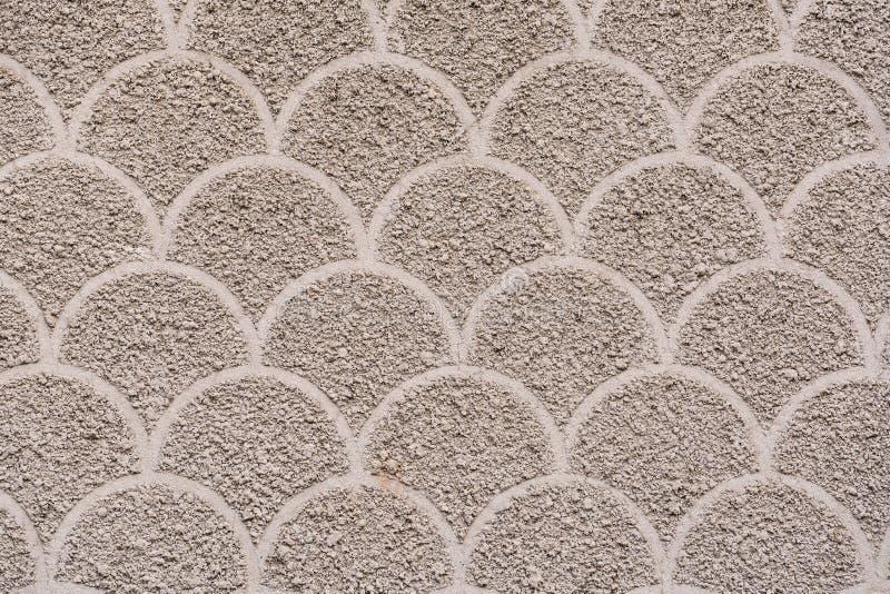 Wzór część fasada w szarych brzmieniach z świetną teksturą cementowy koniec zdjęcie stock