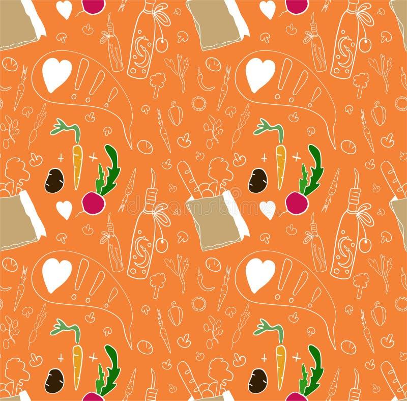 Wzór dla kulinarnego pojęcia zdjęcie royalty free