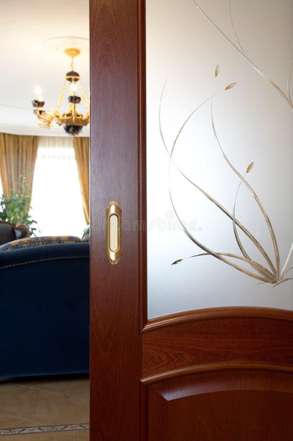 wzór drzwi zdjęcie stock