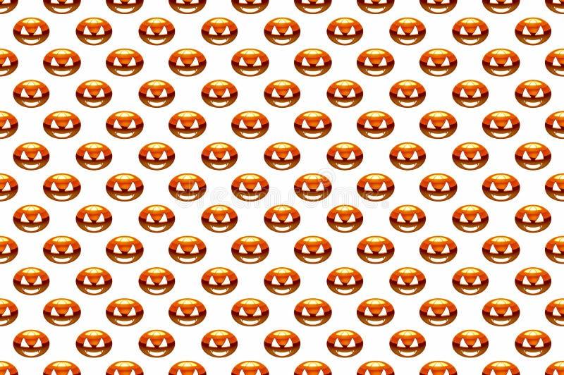 Wzór dzień Halloweenowa bania, zdjęcie royalty free