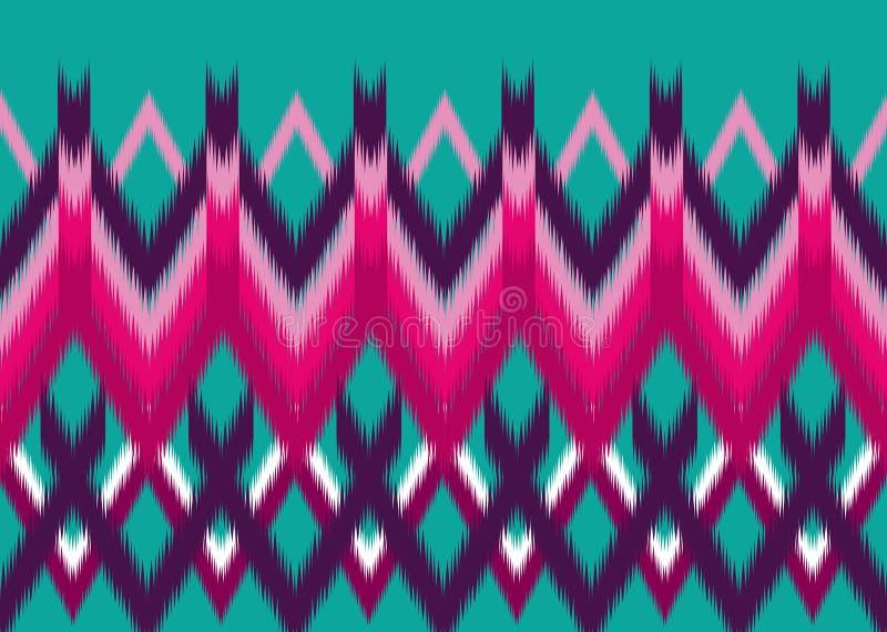 wzór etniczne Geometryczny deseniowy projekt dla tła lub tapety obraz royalty free