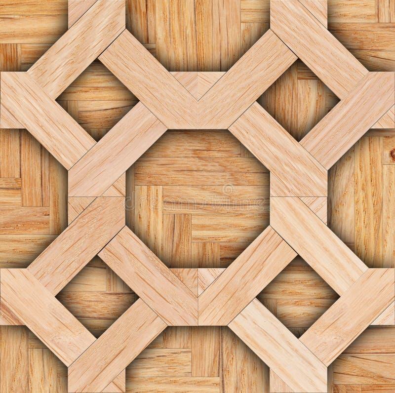 Wzór floorboard na parkietowym tle zdjęcia stock