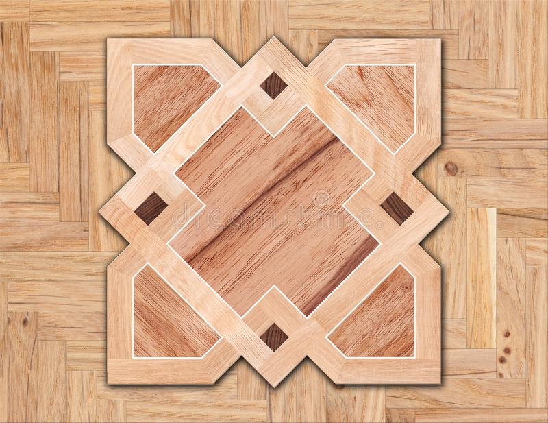 Wzór floorboard na parkietowym tle fotografia stock