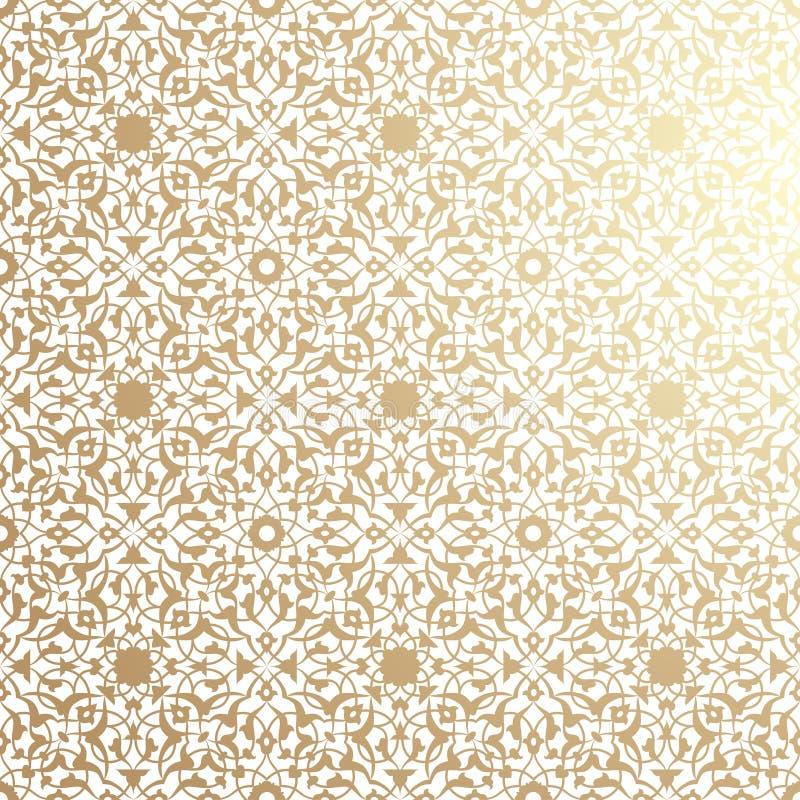 wzór islamskiego ilustracja wektor