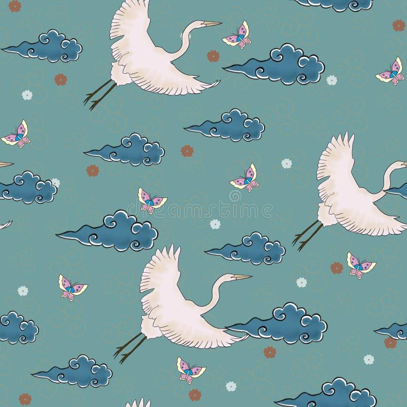 wzór japońskiego royalty ilustracja