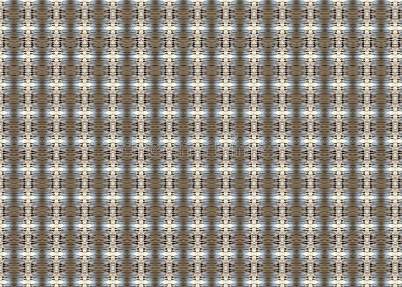 wzór kolor Abstrakt sztuka czerep odszyfrowywa linie royalty ilustracja