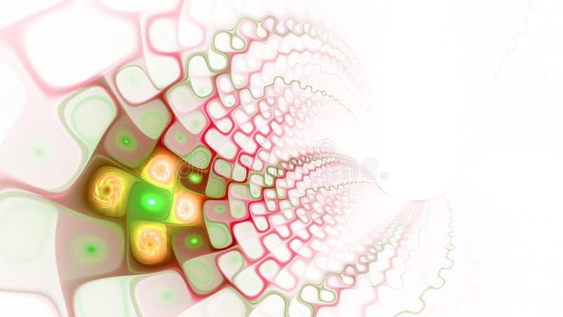 Wzór komórki sieć szeroki świat Przepływ osocze ilustracja wektor