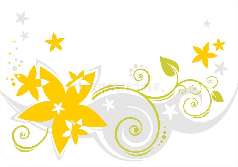 wzór kwiatek światła royalty ilustracja