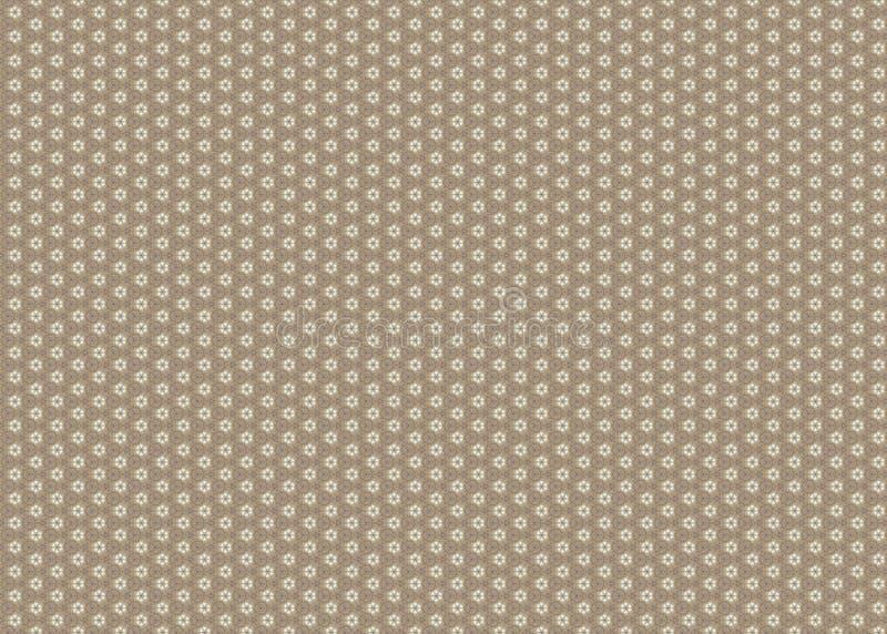 wzór kwiecisty Abstrakt sztuka czerep odszyfrowywa linie ilustracja wektor