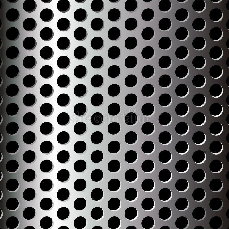 wzór metaliczny ilustracji