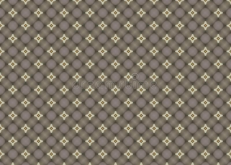 wzór okręgi Abstrakt sztuka czerep odszyfrowywa ilustracji