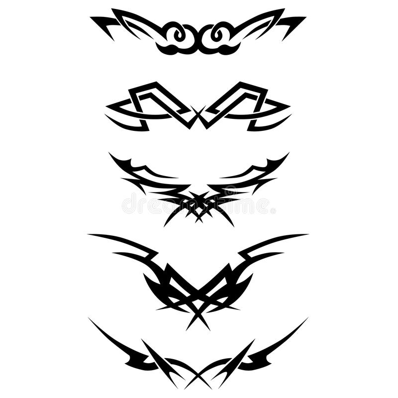 wzór Projekt Tatuaż ilustracji