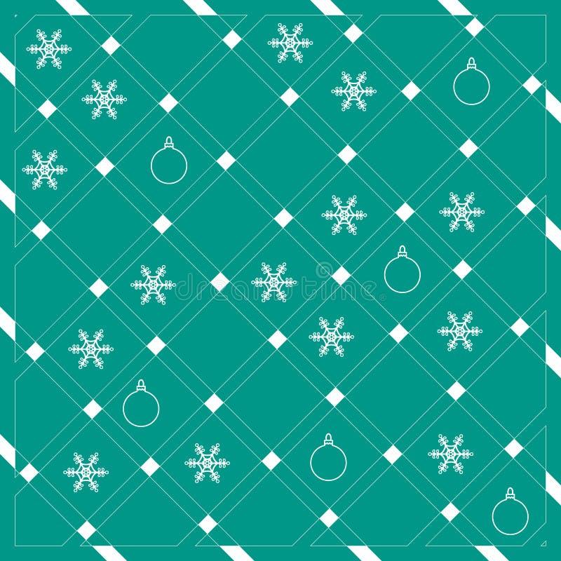 Wzór przekątien linie w ładnych kolorach z snowfla lub lampasy ilustracja wektor