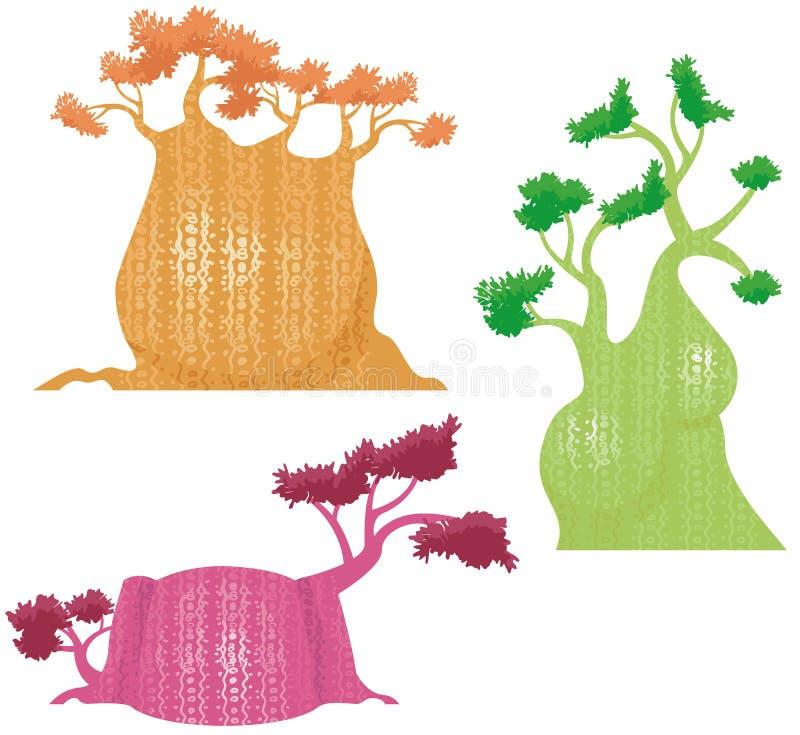 wzór serii drzewne