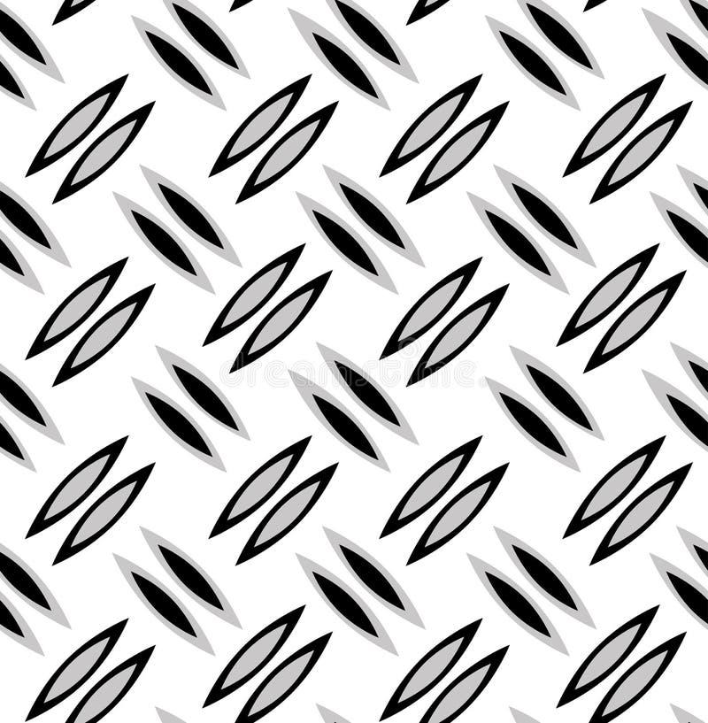 Wzór szarzy czarni płatki ilustracja wektor