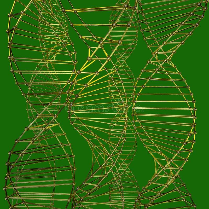 Wzór szyk kratownicy atom ilustracja wektor