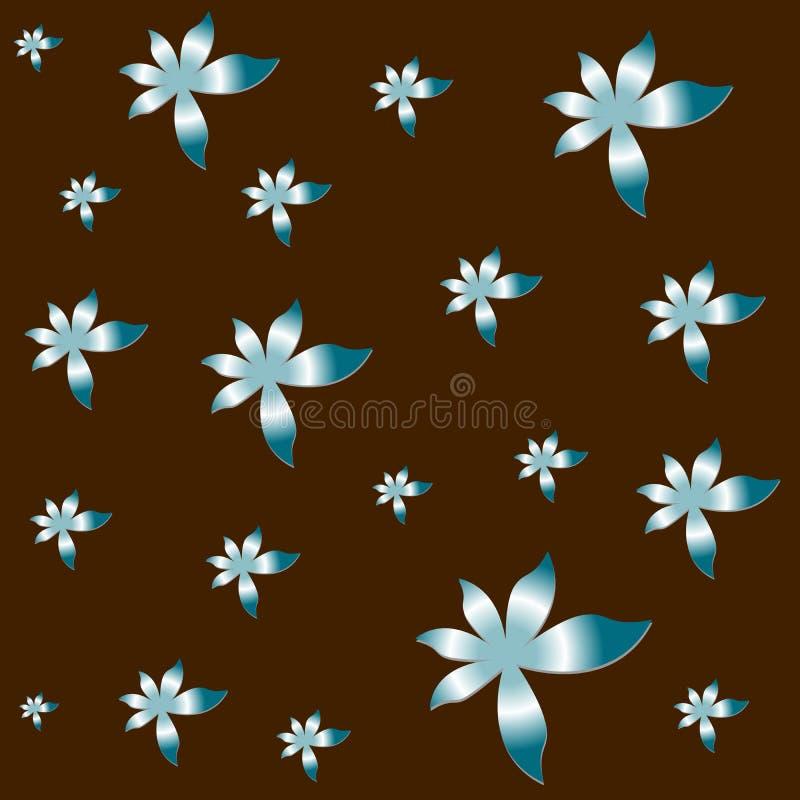 wzór vectorial kwiat ilustracji