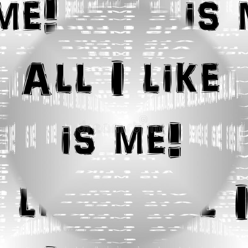 Wzór - Wszystko lubię jest ja! 2 ilustracji