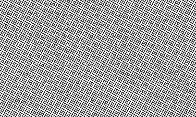 Wzór z małymi czarnymi gwiazdami również zwrócić corel ilustracji wektora royalty ilustracja