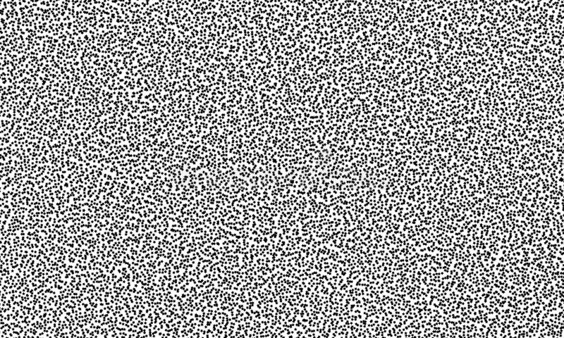 Wzór z małymi czarnymi gwiazdami również zwrócić corel ilustracji wektora ilustracji