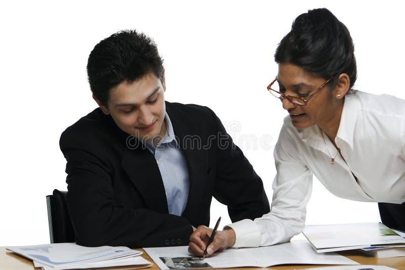 wzajemnej oceny, zdjęcia stock