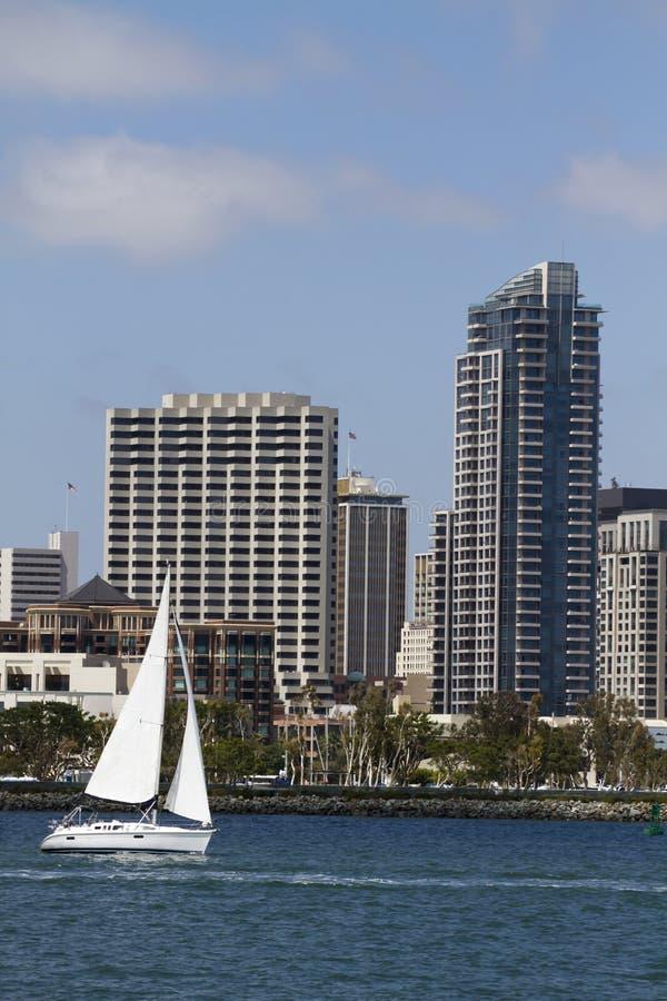 wzdłuż Diego żeglowania San nabrzeża zdjęcie royalty free