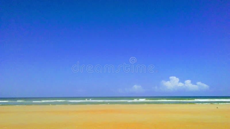 Wzdłuż plaży obrazy stock