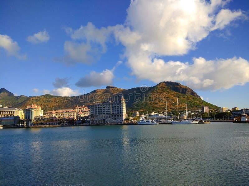 Wzgórza i morza zdjęcie royalty free