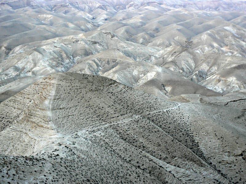 Wzgórza Judejski pustkowie zdjęcia stock