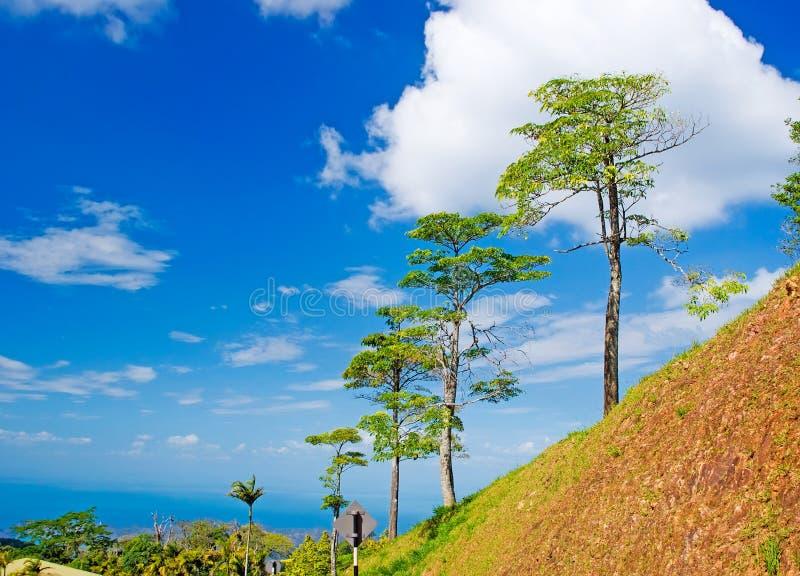 wzgórza Langkawi morza niebo zdjęcia royalty free