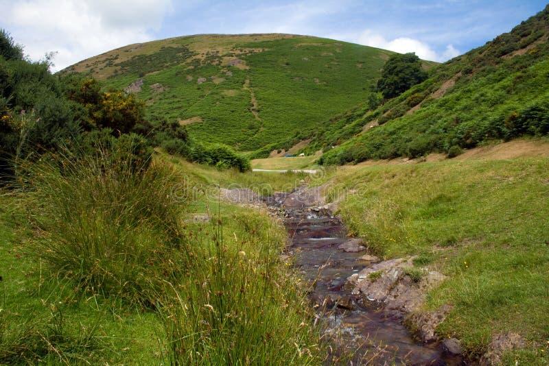 wzgórza Shropshire fotografia royalty free