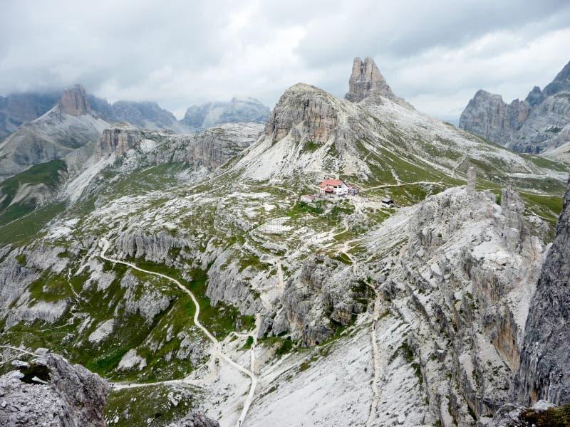 Wzgórza w dolomiten zdjęcie royalty free