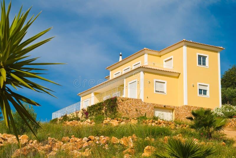 wzgórze dom zdjęcie stock