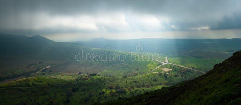 Wzgórze Golan obraz stock