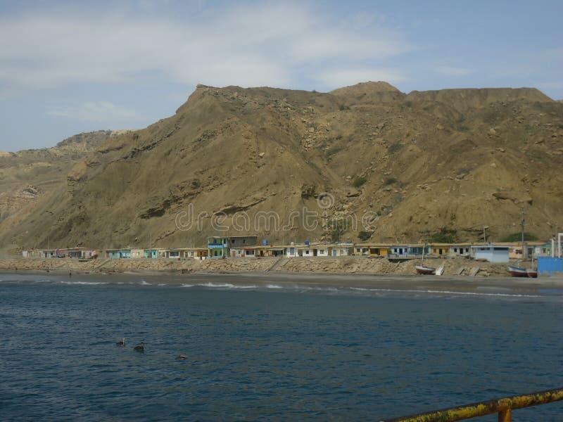Wzgórze i morze obrazy stock