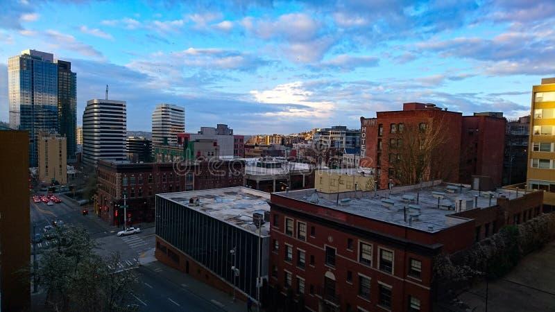 Wzgórze Kapitolu Seattle fotografia stock